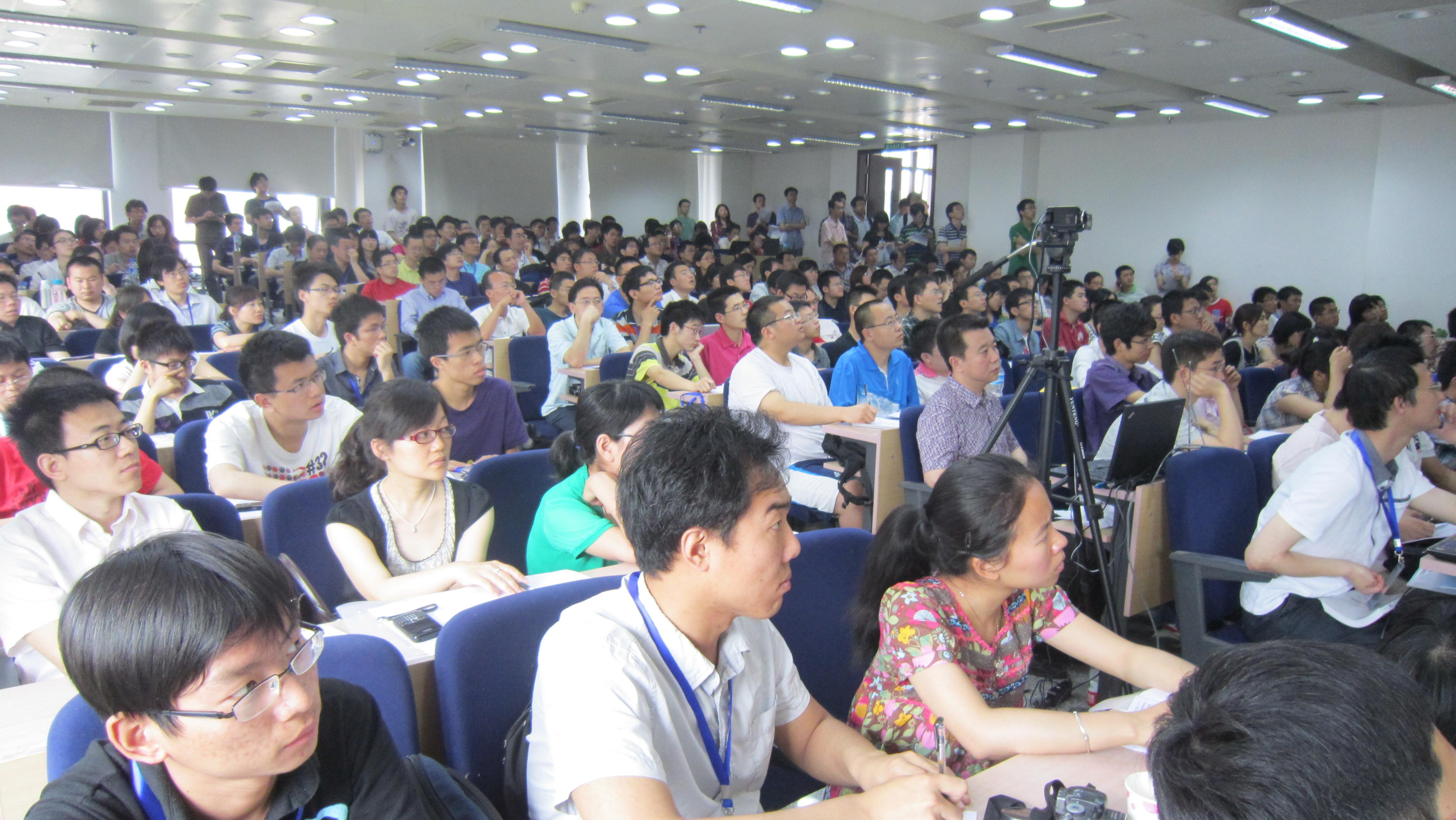 会议现场20110528