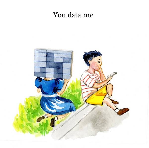 you data me