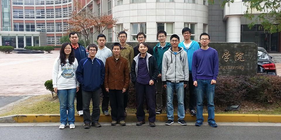 张志华教授和他的学生们